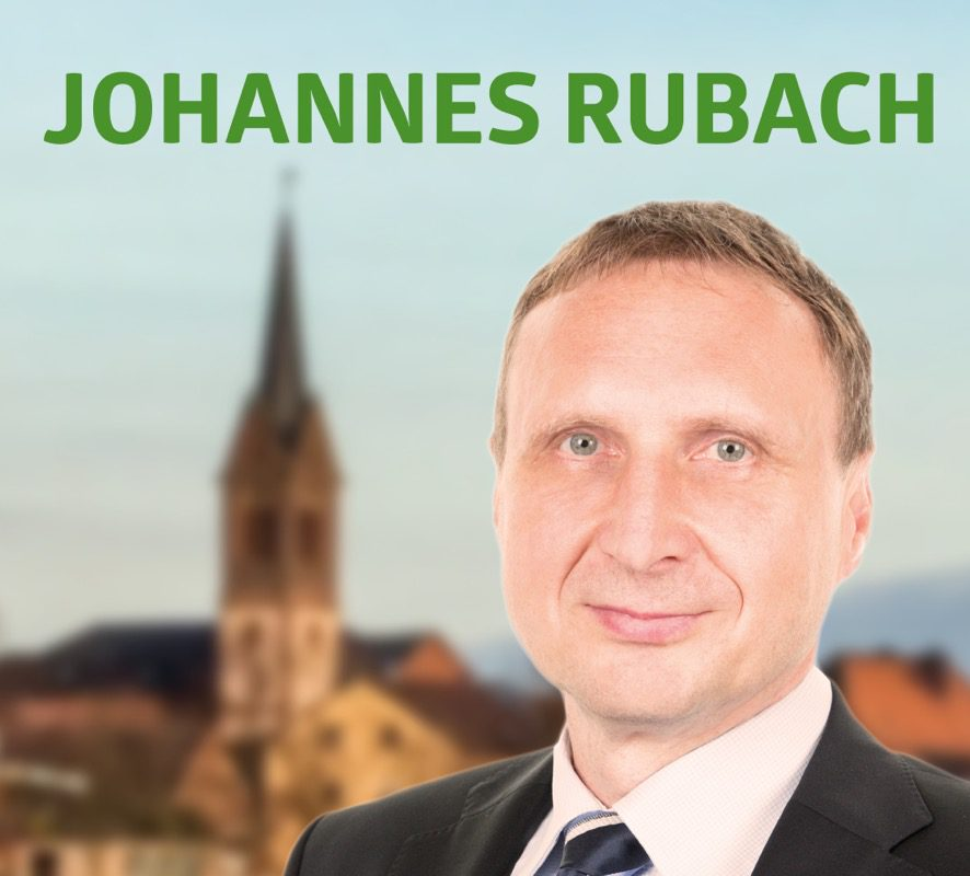 Bürgermeisterkanidat Johannes Rubach